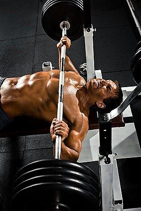 Brustmuskel Training